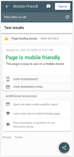 If Google cares more about mobile than desktop for your site, why don't you?